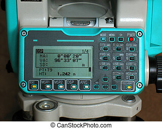 TOTAL STATION NIK - Measurement Instrument The control panel...