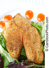 Whole season fillet of Tilapia