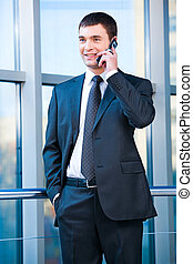 Confident business man - Portrait of confident business man...