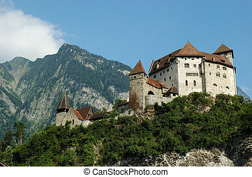 Liechtenstein - Gutenberg Castle - The manificent Gutenberg...