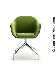 modern armchair 3d rendering - modern armchair 3D isolated...