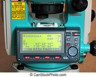 TOTAL STATION SOK - Measurement Instrument The control panel...