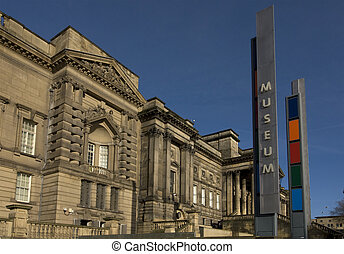Liverpool Museum - The entrance to Liverpool museum