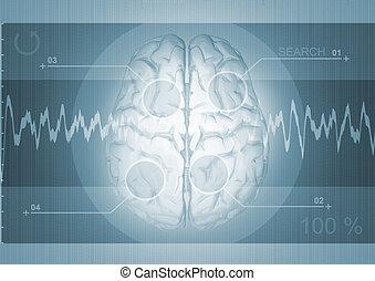 brain background
