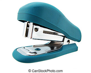 Stapler on white Isolated