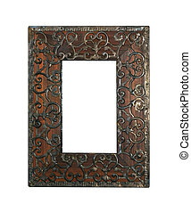 Ironwork frame - Traditional Islamic culture engraved...