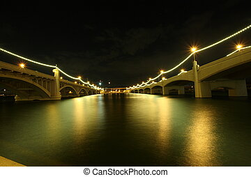 mill avenue bridges in tempe arizona