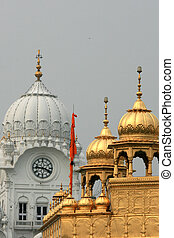 Archway at Golden Temple - Golden Temple, Amritsar, India