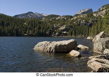 Bear Lake - Beautiful jewel of a lake, Bear Lake, Rocky...