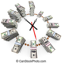 Time is money  - The relationship between time and money