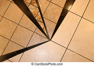 Modern Floor Tile - This is a group of modern floor tiles in...