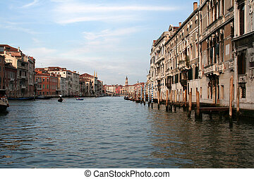 Venice Grand Canal 2 - A shot down the center of Venice...