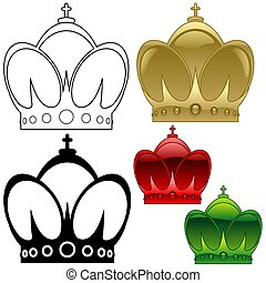 Royal Crown B - detailed illustration