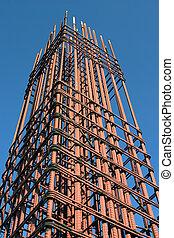 Grid of steel - Industrial grid of steel for reinforced...