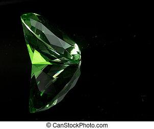 Emeral Green Round Gemstone