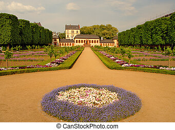 Prinz-Georg Garden in Darmstadt, Germany