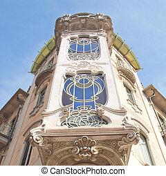 Casa Fleur Fenoglio, Turin - Casa Fleur Fenoglio, old...