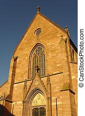 A Church in Ladenburg, by Heidelberg