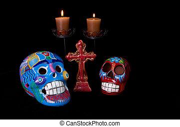Dia De Los Muertos (Day of the Dead) Alter