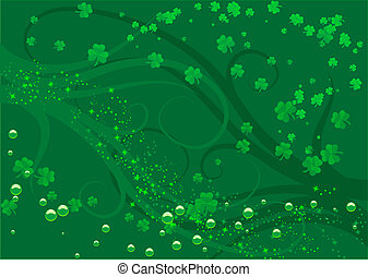 St Patty - Abstract illustration of a st patricks day...