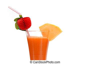 健康, 新たに, 野菜, ジュース