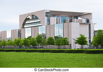 The Bundeskanzleramt, Berlin - Photo of Chancellors Office...
