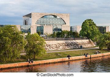 The Bundeskanzleramt, Berlin,,, - Photo of Chancellor's...