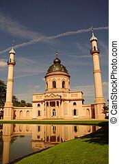 Mosque of Schwetzingen Castle, near Heidelberg, Germany