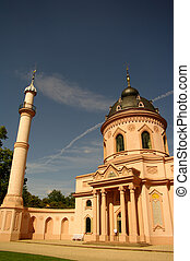 Mosque of Schwetzingen Castle, near Heidelberg, Germany