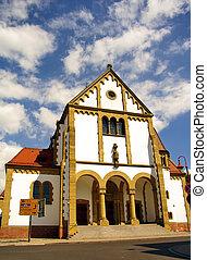 Saint Sebastian Church in Ketsch, nearby Heidelberg