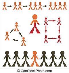 human figures