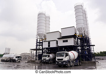 Concrete Mixing Factory