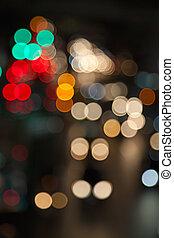 City lights - Night lights of the big city