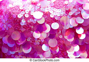 Pink sequins pattern texture background - Pink sequins...