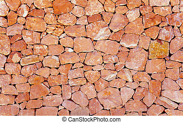 vägg, mönster, sten, frimureri, bakgrund