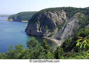 Cape Breton Coastline - The rocky cliffs of Cape Breton...