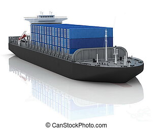 cargo ship - cargo ship