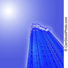 Abstract skyscrapers - Abstract skyscrapers