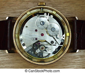 vintage watch mechanism