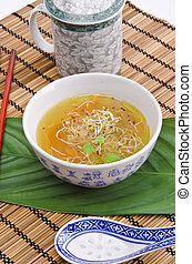 very light and tasty Miso soup