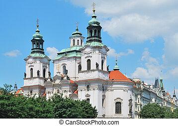 Prague. St. Nicholas Church