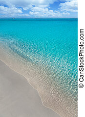 plage, exotique, blanc, sable, turquoise, wate