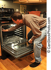 Oven Cleaning Housework