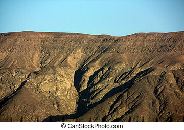 Nasca sand dune - sand dune in the desert