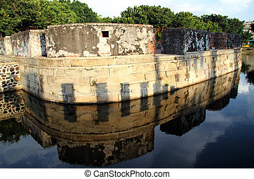 Small fort - Small dutch fort in Anping district, Tainan,...