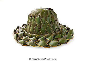 weave hat, made of nypa leaf