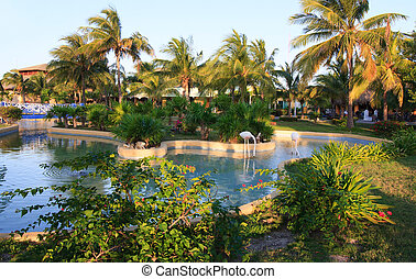Area of hotel Sol Cayo Largo Cuba