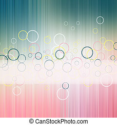 Color lines and cirkle abstract background , pattern