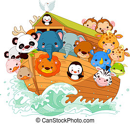 Noahs Ark - Illustration of Noahs Ark
