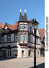 Residence City Celle in Lower Saxony, Germany